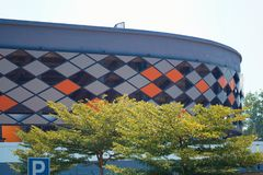 Бочка Abdul Razak Jengka стадиона стоковое изображение rf