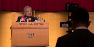 Бочка Mahathir Mohamad, основное Mnister Малайзии Стоковое фото RF