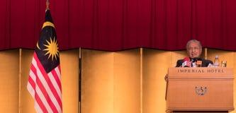 Бочка Mahathir Mohamad, основное Mnister Малайзии Стоковое Изображение RF