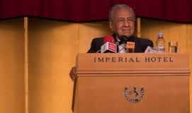 Бочка Mahathir Mohamad, основное Mnister Малайзии Стоковое Фото