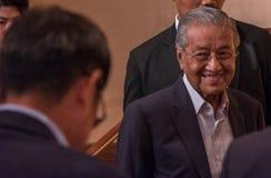 Бочка Mahathir Mohamad, основное Mnister Малайзии Стоковые Фото