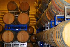 Бочки вина Стоковые Изображения