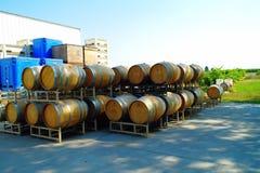 Бочки вина Стоковое Фото