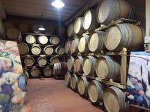 Бочки вина Chianti Стоковые Изображения RF