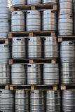 Бочонки бочонков пива Стоковая Фотография RF