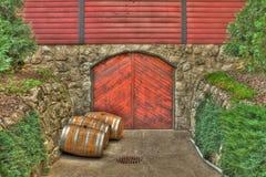 Бочонки вина дуба Стоковые Изображения RF