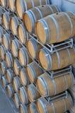 Бочонки вина Стоковая Фотография