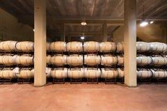 Бочонки вина Стоковое фото RF