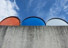 Бочонки металла Стоковая Фотография RF