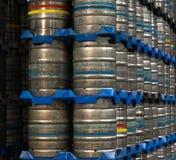 Бочонки пива Стоковая Фотография