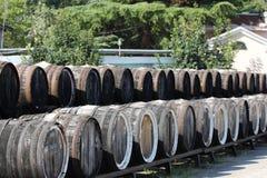 Бочонки с вином Стоковые Изображения RF