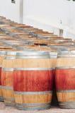 Бочонок вина, Stellenbosch, западной плащи-накидк, Южной Африки стоковое фото rf