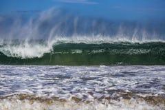 Бочонок океанской волны стоковые изображения rf