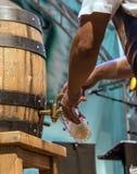 Бочонок пива стоковое изображение rf
