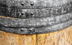 Бочонок старого вина деревянный Стоковые Изображения RF
