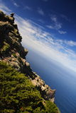 боязнь высоты tenerife стоковая фотография rf