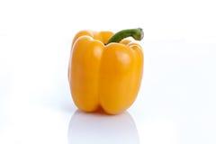 Болгарский перец или capsicum на белой предпосылке Стоковая Фотография RF
