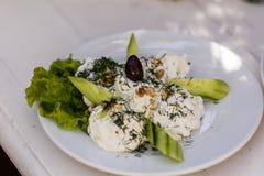 болгарский салат традиционный Стоковые Фото