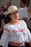 Болгарский фольклорный танцор Стоковое Фото