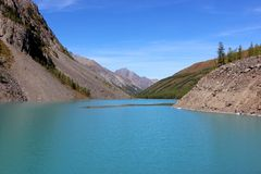 Более низкое озеро shavlinskoe Стоковые Фото