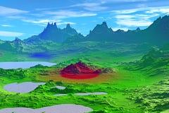 Более странные планеты Стоковые Изображения RF