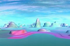 Более странные планеты Стоковое Фото