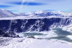 Более странные планеты Стоковая Фотография RF