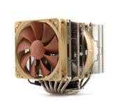 Более холодное оборудование вентилятора компьютера Стоковое Изображение RF