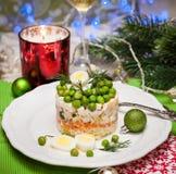 более olivier русский салат традиционный Стоковая Фотография RF