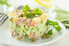 более olivier русский салат стоковая фотография