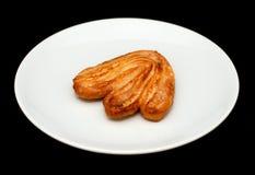 Более Palmier печенье с сахаром Стоковая Фотография