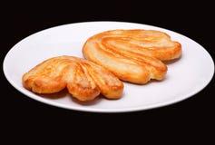 2 более palmier печенья с сахаром Стоковое Изображение