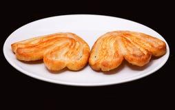 2 более palmier печенья с сахаром Стоковые Фото