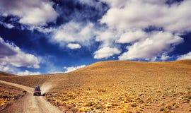 Боливийская пустыня Стоковое Изображение