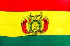 боливийский флаг Стоковая Фотография RF