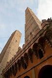 Болонья 2 башни Стоковое фото RF
