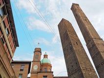 Болонья Италия башни Asinelli Стоковое Изображение