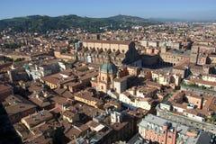 Болонья, Италия, город 100 башен Стоковые Изображения
