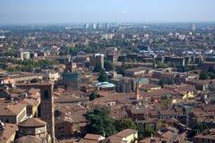 Болонья, Италия, город 100 башен Стоковая Фотография