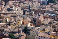 Болонья, Италия, город 100 башен Стоковые Фото