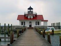 болотоы roanoke маяка стоковая фотография