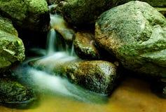 Болото малый водопад Стоковые Изображения RF