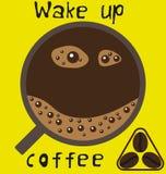 Бодрствование вверх по кофе Стоковое Изображение RF
