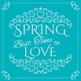 Бодрствование вверх приходя весна Стоковые Изображения RF