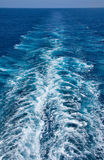 бодрствование океана Стоковые Фотографии RF