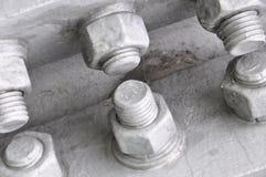 Болты и гайки Стоковое Изображение RF