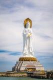 Бодхисаттва Guan Yin, остров Хайнаня, Китай Стоковое Изображение RF
