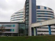 Больница Бирмингем университета Стоковое Изображение