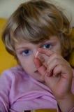 Больной ребенок Стоковое Фото