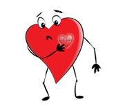 больной сердца Стоковая Фотография RF